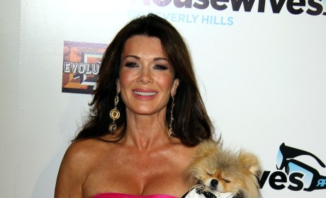 Lisa Vanderpump and Dog