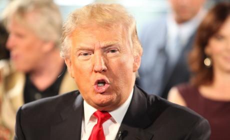 Donald Trump Close Up