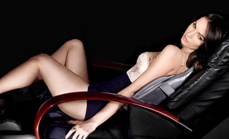Megan Fox for the Sharper Image: Hot and Pregnant!