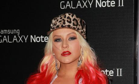 Christina Aguilera Gets Serious