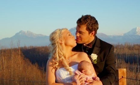 Levi Johnston and Sunny Oglesby Wedding Photo