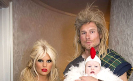 Happy Halloween from Jessica Simpson!