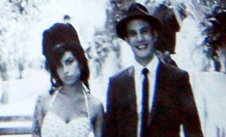Amy Winehouse Wedding Dress