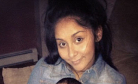 Snooki Photos: No Makeup! Lorenzo!
