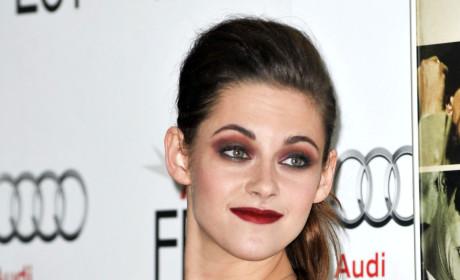 Kristen Stewart Actually Smiles