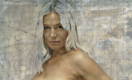 The Sienna Miller nude-and-pregnant photo is...