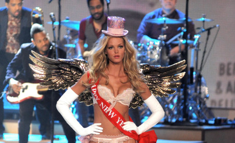 Erin Heatherton for Victoria's Secret