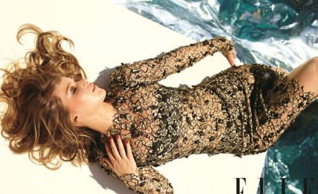 Jennifer Lawrence in Elle