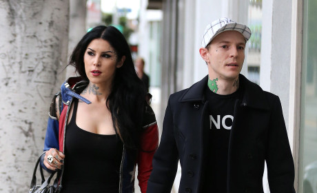 Kat Von D and Deadmau5: It's Over!