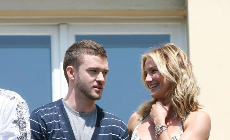 Justin Timberlake And Cameron Diaz Photo