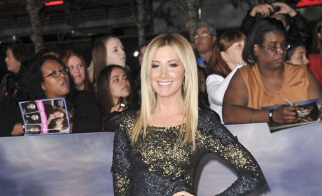 Ashley Tisdale at Breaking Dawn 2 Premiere