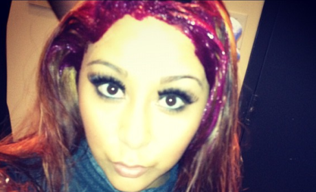 Snooki Red Hair Photos: Fan? Not a Fan?