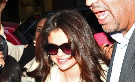 Selena Gomez in a Crowd