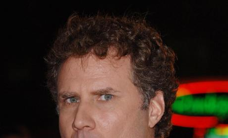 Hot, Steamy Talladega Nights, as Ferrell Smooches Male Co-Star