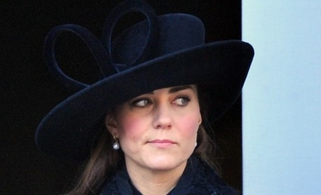 Kate Middleton is Not Impressed