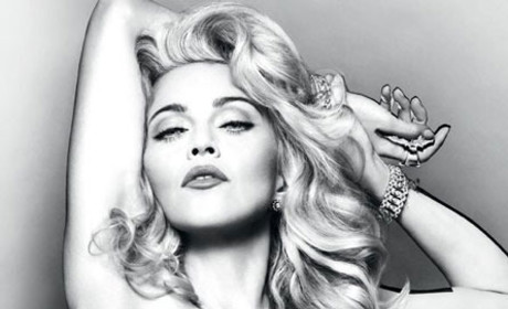 Madonna: Naked for New Perfume!