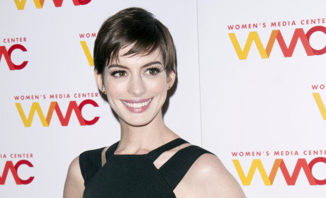 Anne Hathaway on Short Hair: Gay Brother-Esque!