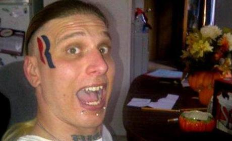 Romney Face Tattoo Guy Now Looking Into Getting That Removed