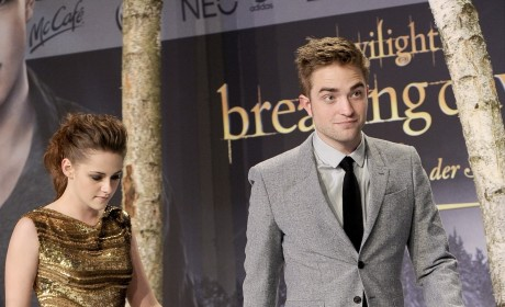 Kristen Stewart and Robert Pattinson in Germany