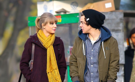 Harry Styles and Taylor Swift: Spotted in Central Park!