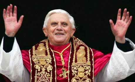 Pope Benedict XVI: Now on Twitter!