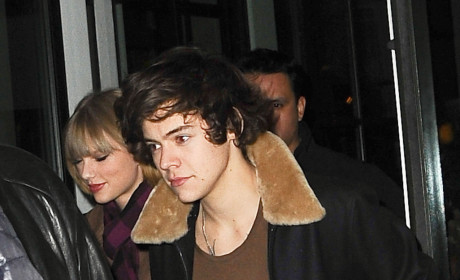 Taylor Swift and Harry Styles Spotted Leaving Crosby Hotel!