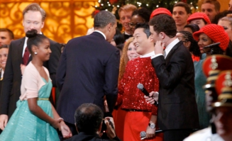 Obama Meets PSY, Witnesses Glory That is Gangnam Style in Person