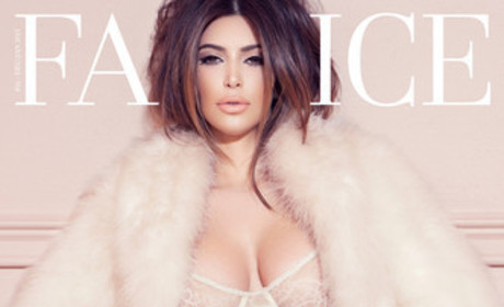 Kim Kardashian Lingerie Photos: Ogle Away!