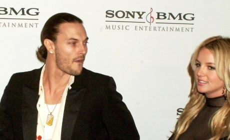 Britney Spears Kevin Federline Pony Tail