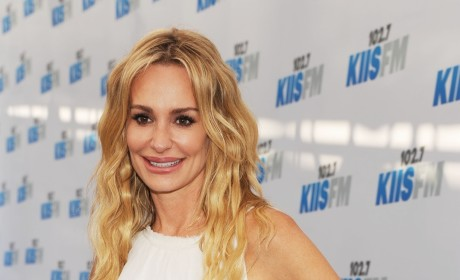 Taylor Armstrong in White