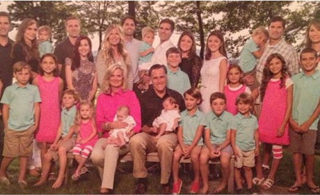 Romney Christmas Card