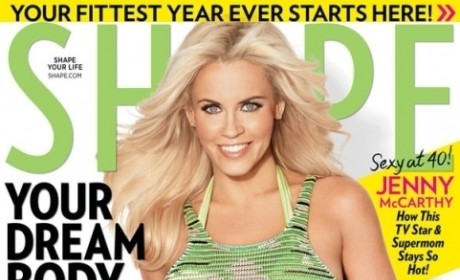 Jenny McCarthy Abs, Body: So in Shape!
