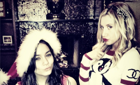 Vanessa Hudgens and Ashley Tisdale: Merry XXXMas!