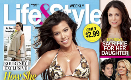 PHEW: Kourtney Kardashian Regains Bikini Body!