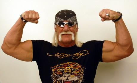 Hulk Hogan and His Muscles