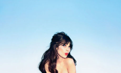 Zooey Deschanel in Glamour