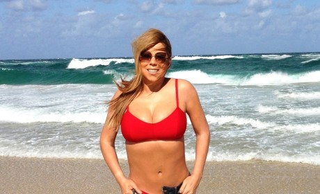 Mariah Carey Bikini Photo