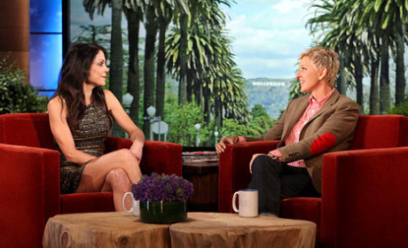 Bethenny Frankel with Ellen