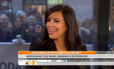Kim Kardashian on The Today Show: No Rush to Marry!