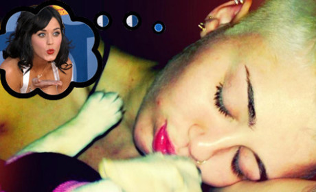 Miley Cyrus Shares Teenage Dreams About Katy Perry