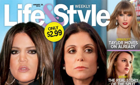 Khloe Kardashian and Bethenny Frankel Cover