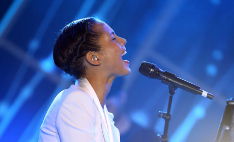 Alicia Keys on Stage