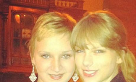 Kayla Kincannon and Taylor Swift