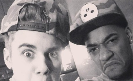Justin Bieber Ferrari: Pulled Over Again!
