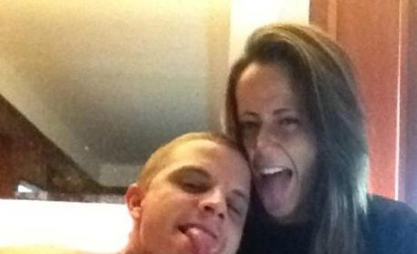 Pic of Jenelle Evans and Courtland Rogers
