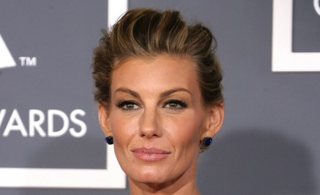 Faith Hill at the Grammys