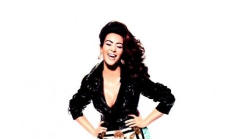 Kim Kardashian Laughs