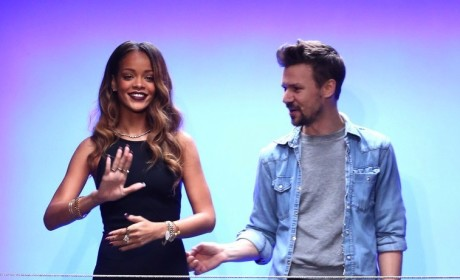 Rihanna at Fashion Week London
