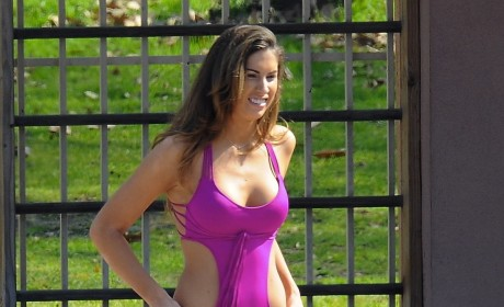 Katherine Webb on Splash