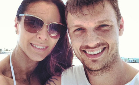 Lauren Kitt and Nick Carter